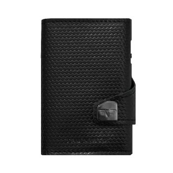 WALLET CLICK & SLIDE DIAGONAL CARBON BLACK
