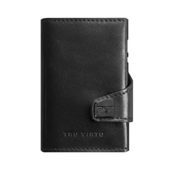 WALLET CLICK & SLIDE NAPPA BLACK