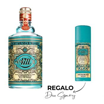 ORIGINAL EAU DE COLOGNE 400 ML + DEO SPRAY 150 ML