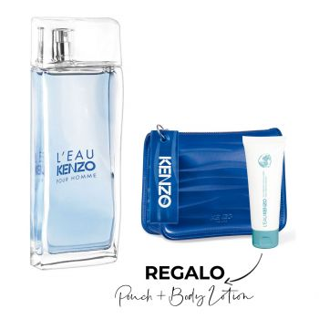 L'EAU HOMME EDT 100 ML + NEO BLUE POUCH + BODY LOTION